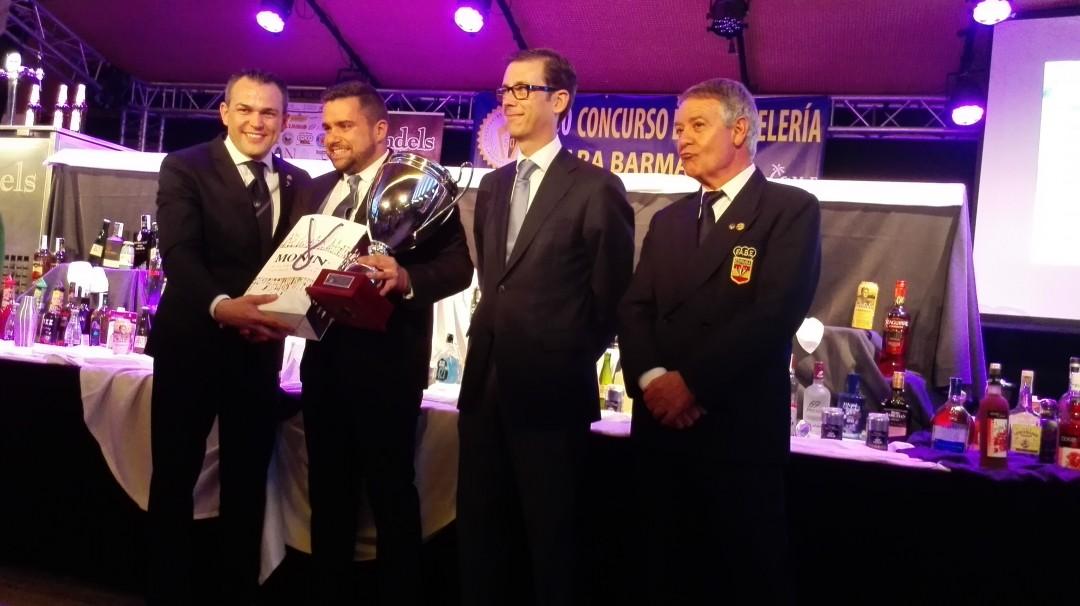 Iván Talens, Mario Gallart, Sebastián Fernández y Eugenio Garces