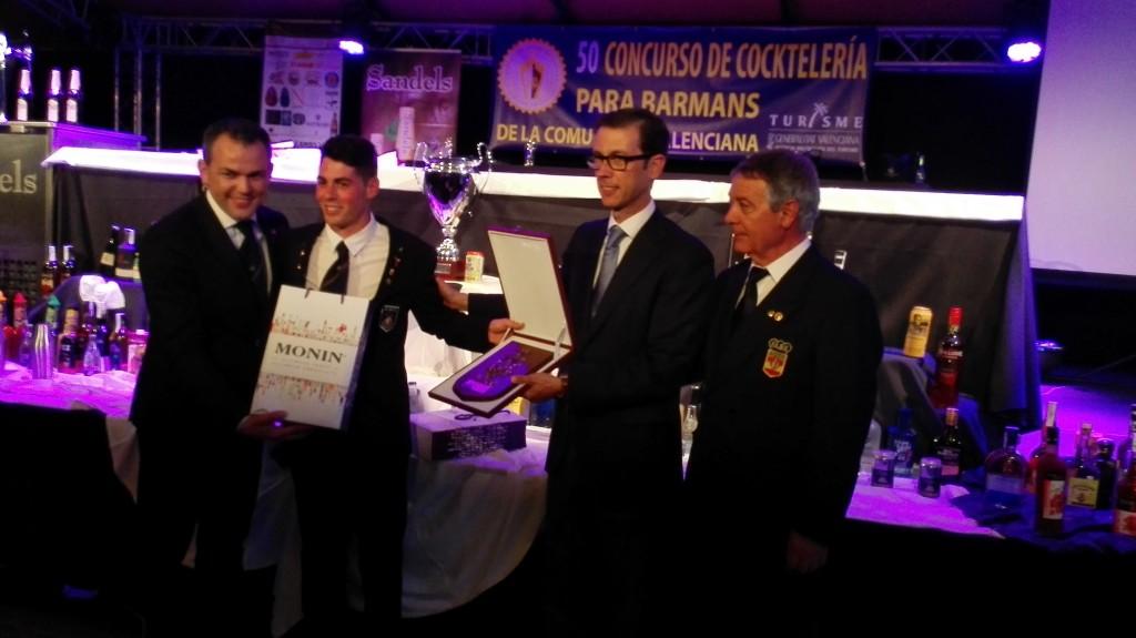 Ivan Talens, Sergio Valls, Sebastián Fernández y Eugenio Garces